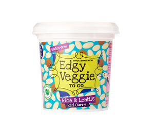 Edgy Veggie To Go - Rice & Lentils (60 g)