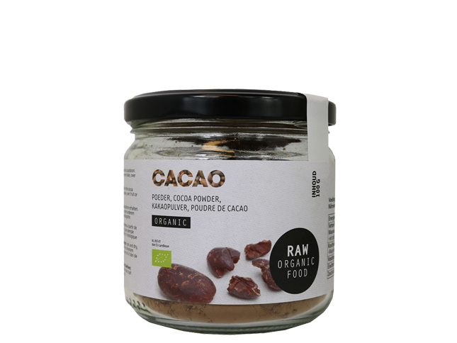 Raw Cocoa powder, ekologisk (100 g)