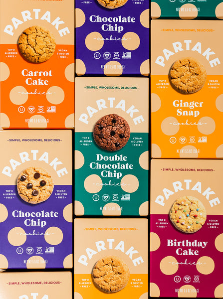 Partake's Central Market Small Business Grocery Haul with Partake Cookies
