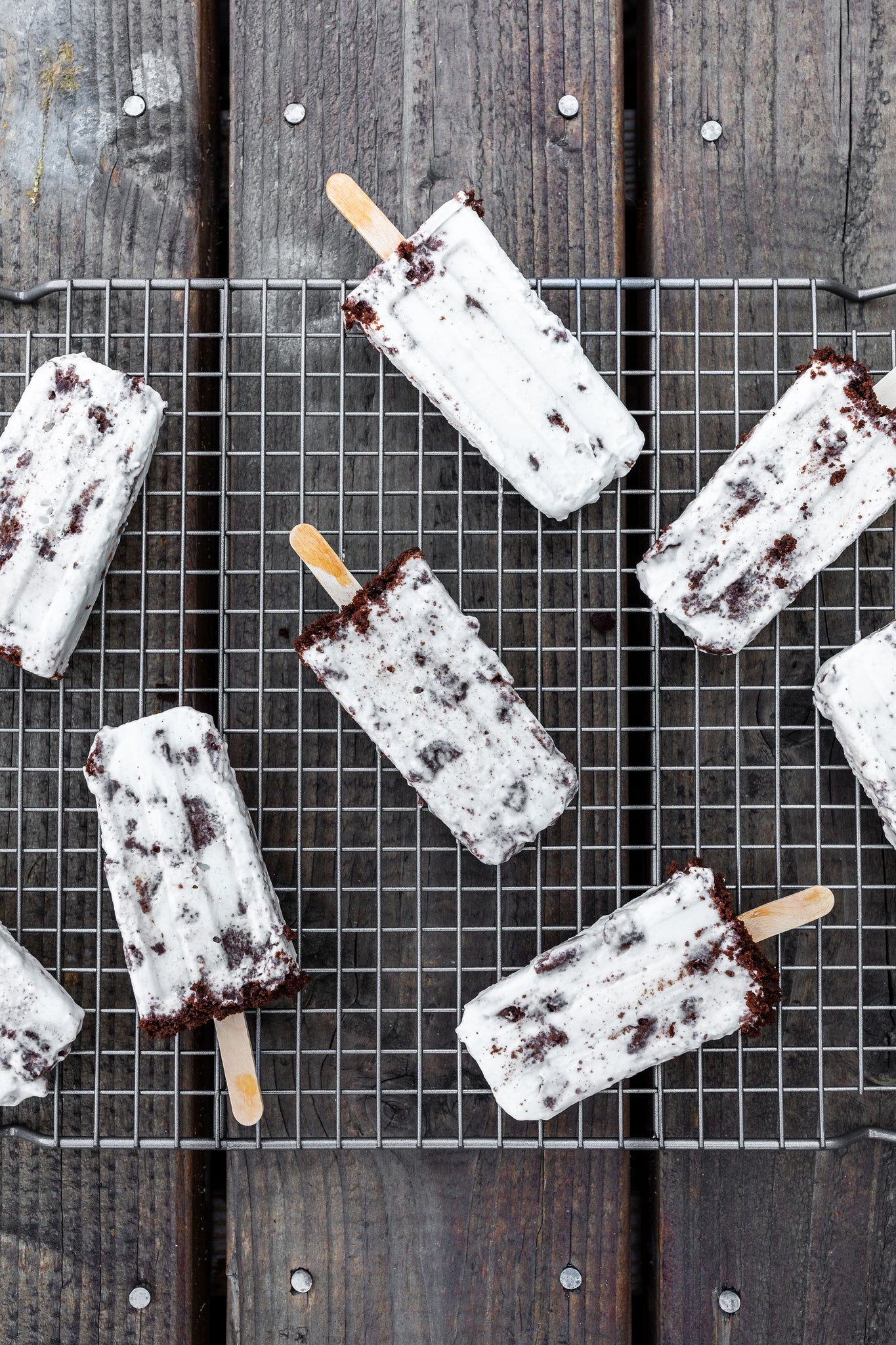 Coco-nilla Healthy Popsicles