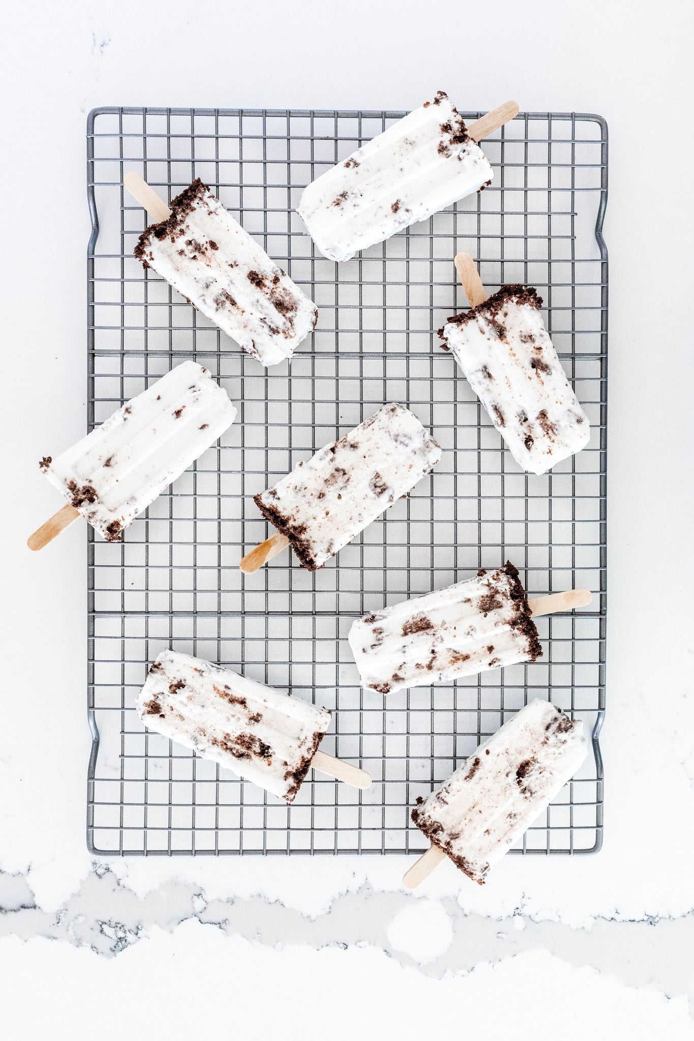 Healthy Ice Cream Popsicles