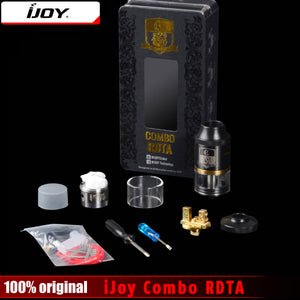 iJoy Combo RDTA RDA & Combo RDTA 2 Vape Sub Ohm Tank Atomizer 6.5ml e-Juice Capacity With Side Filling System - Smoketronix