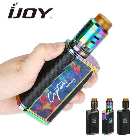 225W  IJOY Captain PD1865 TC MOD + 2.6ml RDTA 5S Tank - Smoketronix
