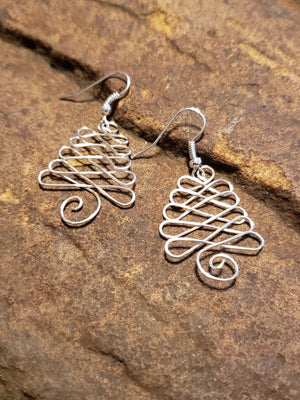 Christmas fantasy earrings