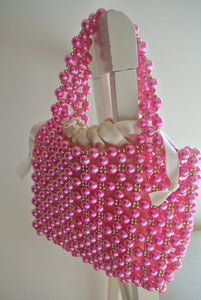 Talitha Pink Pearl Bag - Margherita