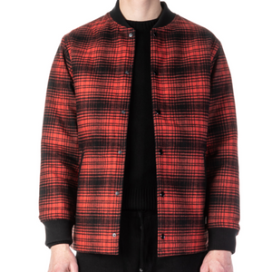 Stevenson Overall Co. Roadster Jacket (Red Plaid)