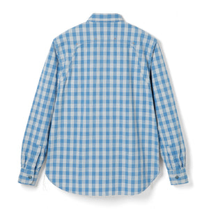 Stevenson Overall Co. 'Smith' Shirt (Blue Plaid)