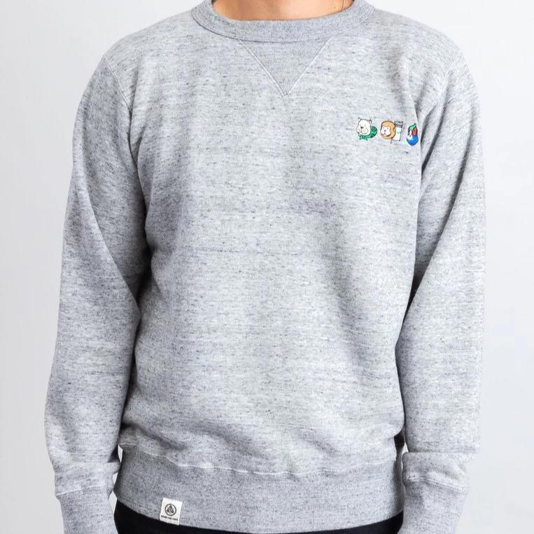 Momotaro Followers Sweatshirt (Grey)