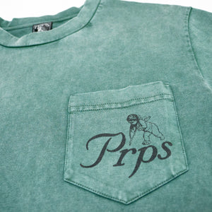 PRPS 'Stark' Heavy Tee (Washed Green)