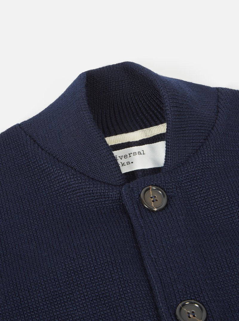Universal Works Knit Work Jacket (Navy)
