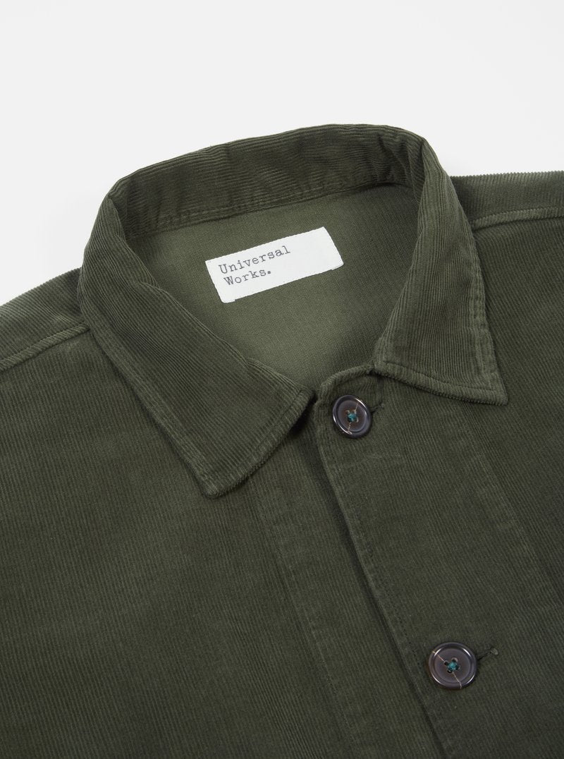 Universal Works Bakers Overshirt (Green)