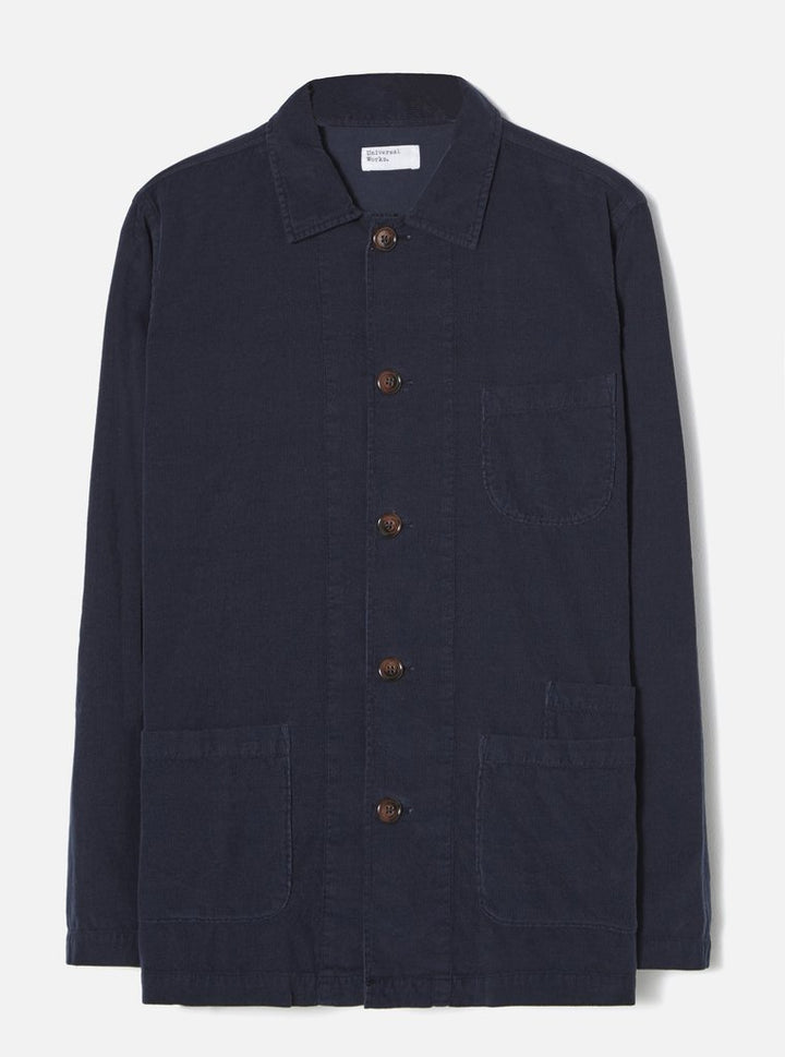Universal Works Bakers Overshirt (Navy)