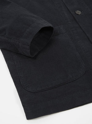 Universal Works Bakers Overshirt (Black)