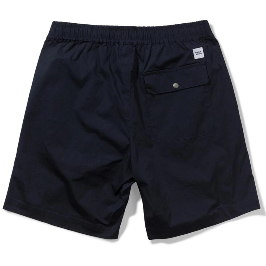 Native North Paper Shorts (Navy)