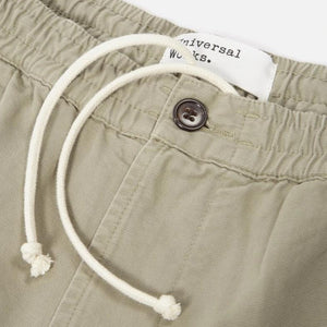 Universal Works Canvas Track Trouser (Laurel)