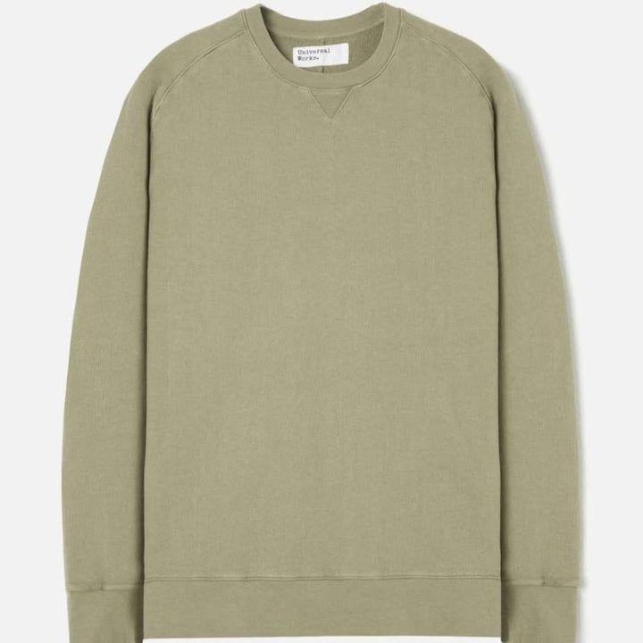 Universal Works Crew Sweatshirt (Laurel)