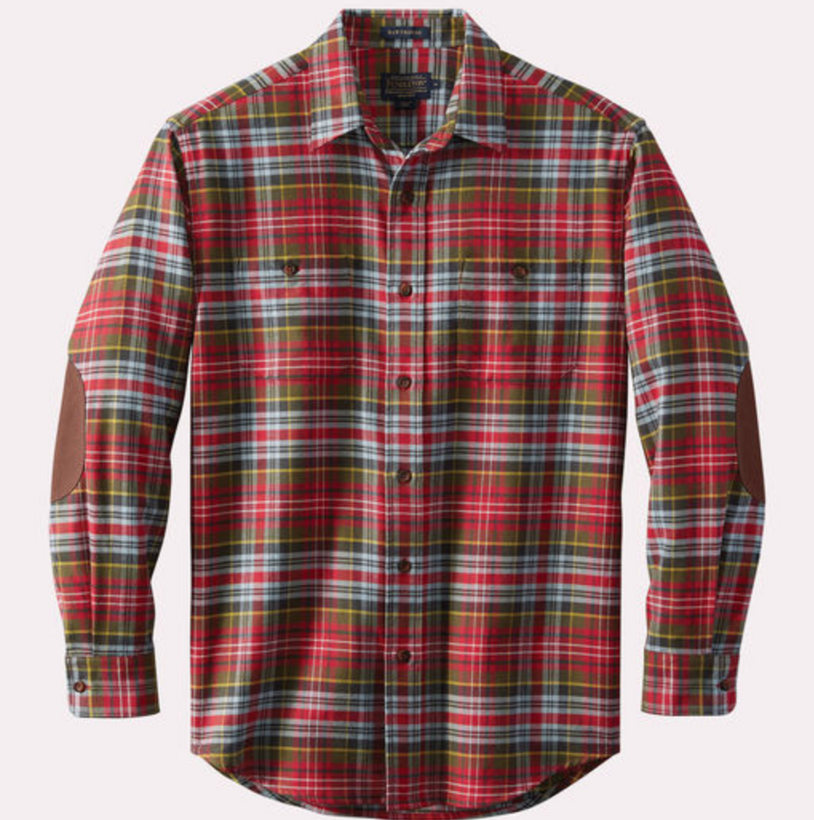 Pendleton Flannel Shirt (Red Check)