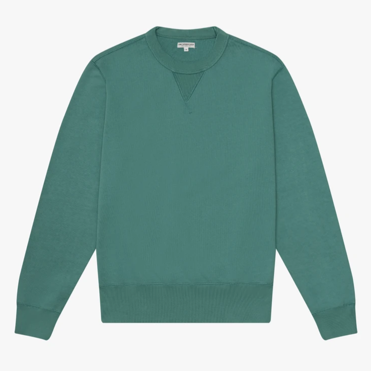 Knickerbocker Gym Crew Sweatshirt (Forest Green)