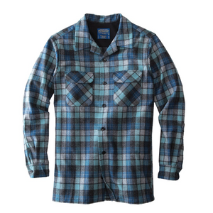 Pendleton Board Shirt (Blue Surf Plaid)