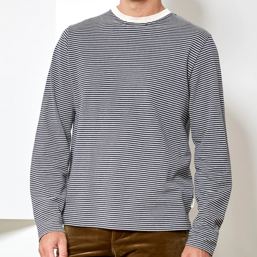 Oliver Spencer Arden LS Tee (Navy)