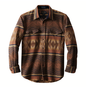 Pendleton Pine Top Shirt (Rust)