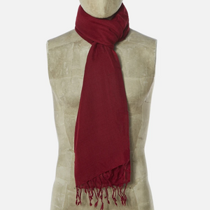 Universal Works Pashmina Scarf (Red)