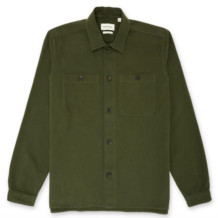 Oliver Spencer Eltham Overshirt (Green)