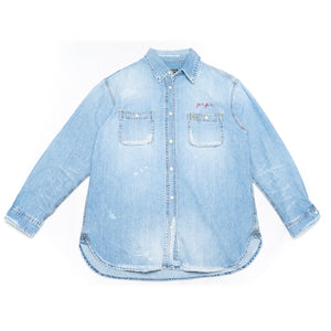 PRPS 'Raken' Shirt (Light Wash)