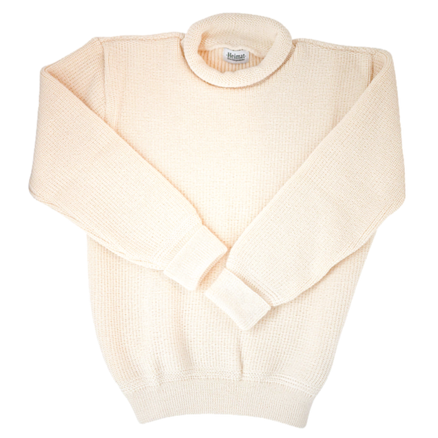 Heimat Mini Roll Neck Sweater (Seashell)
