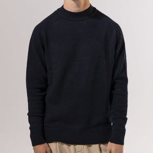 Unfeigned Cashmere Knit (Navy)