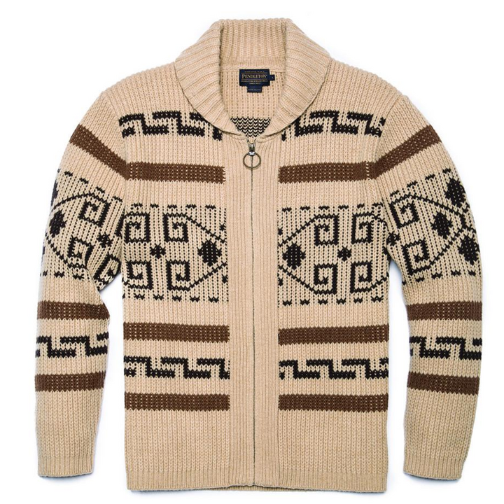 Pendelton 'The Original Westerley' Zip Cardigan