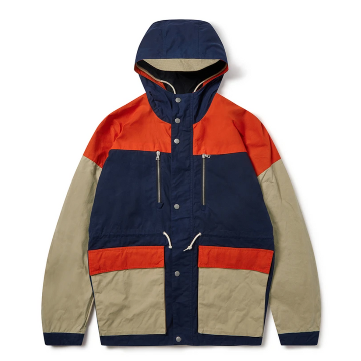 Albam Orienteering Parka (Dark Navy/Orange)