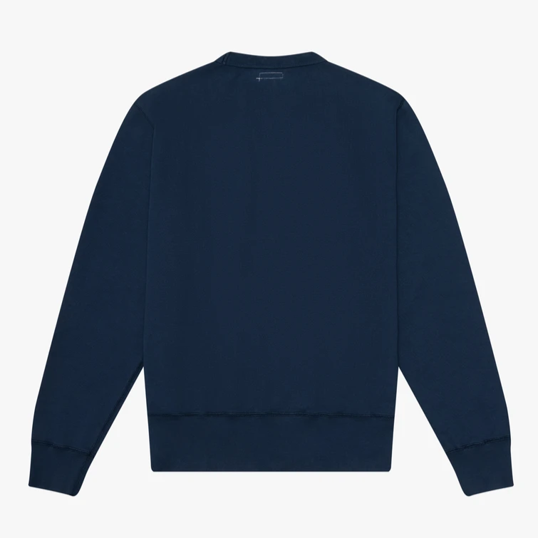 Knickerbocker Gym Crew Sweatshirt (Dusty Blue)