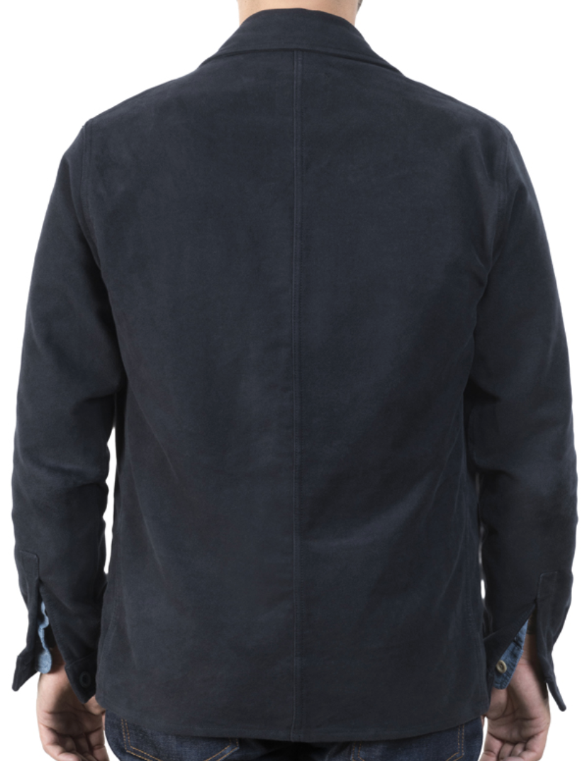 Captain Santors Workwear Jacket (Navy Blue)