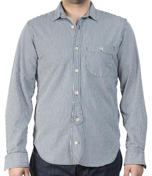 Captain Santors Workshirt 8801 (Blue Stripe)