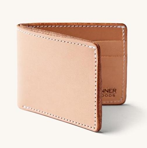 Tanner Goods Utility Bifold Wallet (Natural)