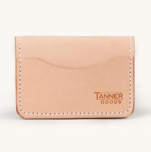 Tanner Goods Union Quad Wallet (Natural)