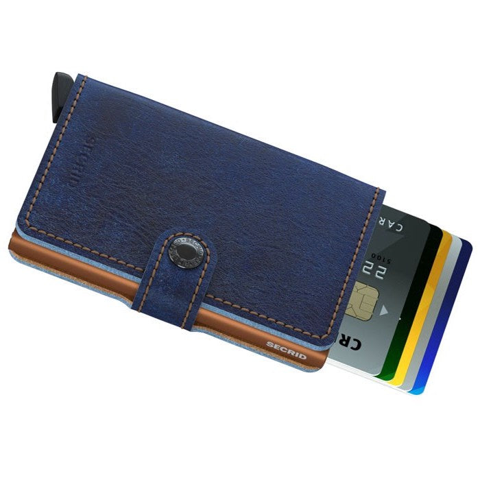 Secrid Miniwallet (Indigo Leather)