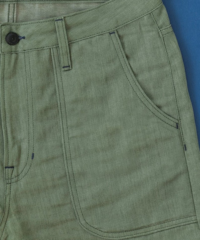 Benzak BP-02 Patch Pocket Pants (Green)