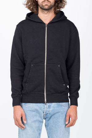 Benzak BS-04 Zip Hoodie (Heavy Black Sweat)