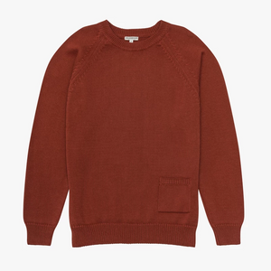 Knickerbocker Barge Sweater (Brick)