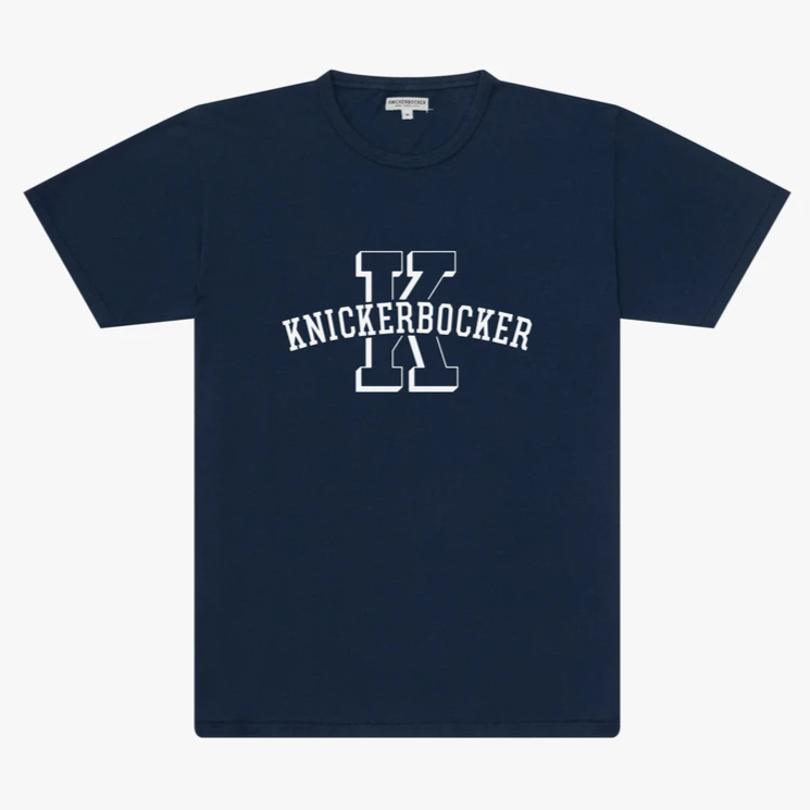 Knickerbocker University Tee (Dusty Blue)
