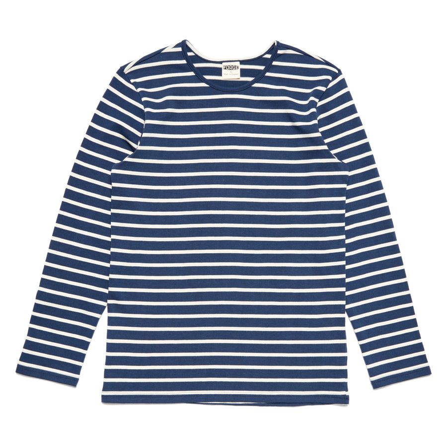 Forge Denim Breton LS (Navy)