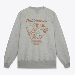Dubbleware Buzz Raglan Sweat (Grey)