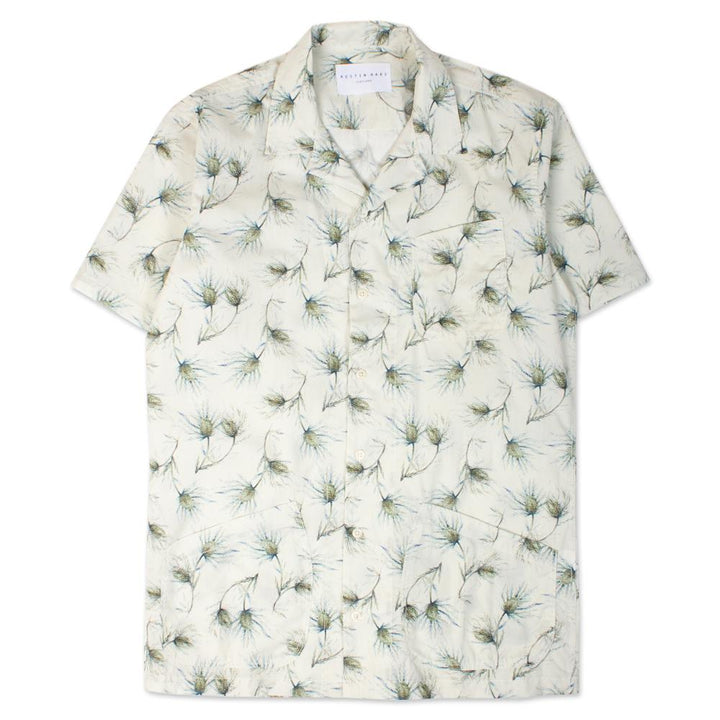 Kestin Hare Seacliff Shirt in Printed Cotton
