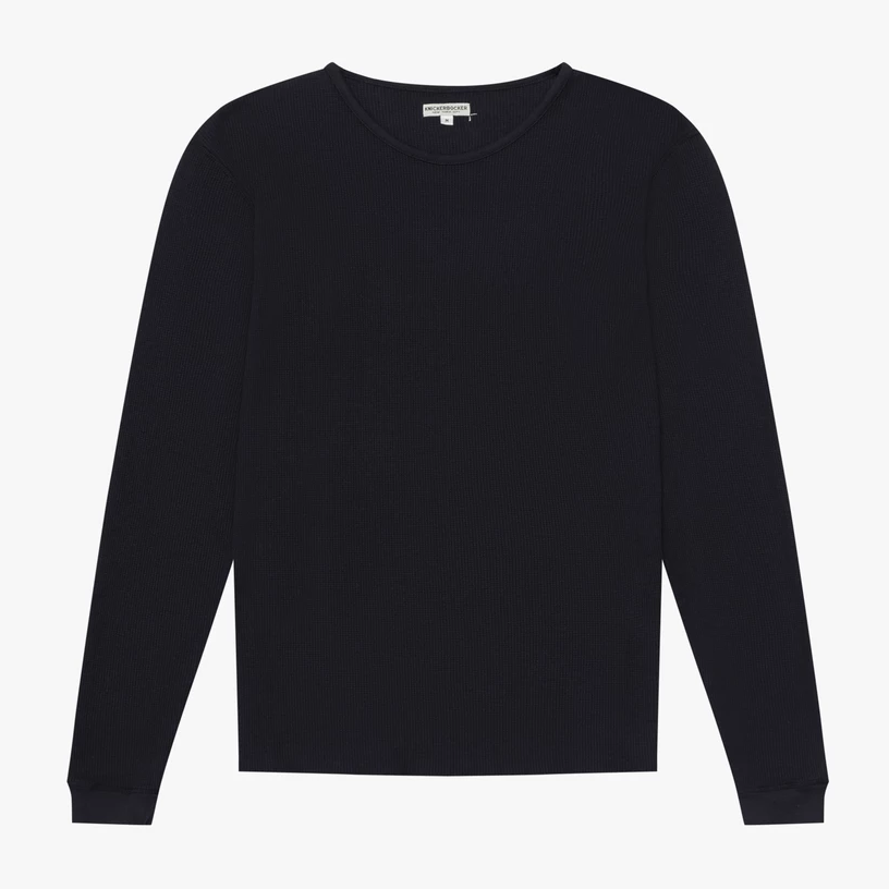 Knickerbocker Camp Knit L/S (Dark Navy)