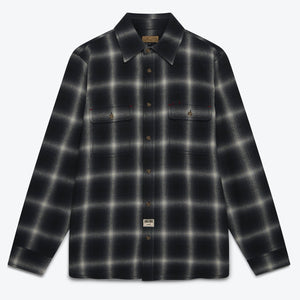 Dubbleward Milton Ombre Shirt (Black/Grey)