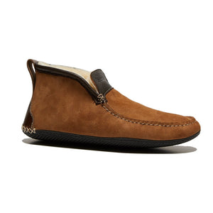 Quoddy 'Dorm' Boot (Chestnut Sheepskin)