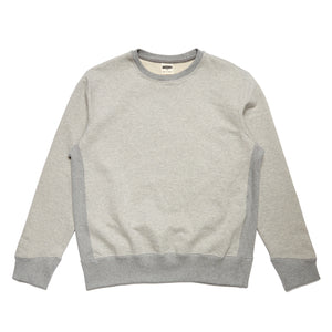 Forge Denim Ribbed Sweatshirt (Grey Marl)