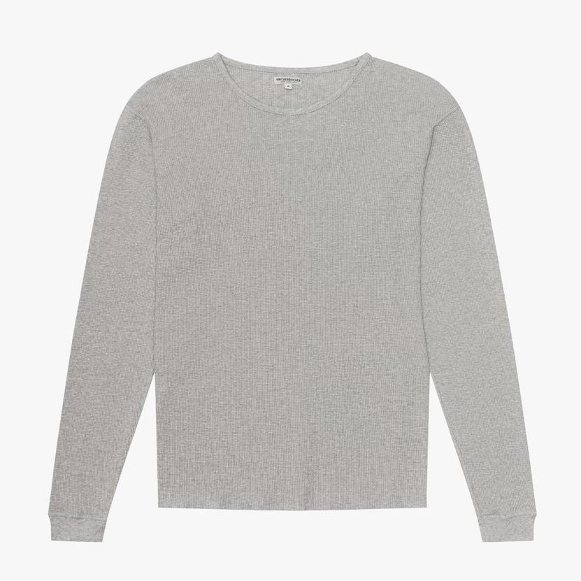 Knickerbocker Camp Knit L/S (Heather Grey)